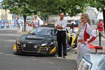 AUDI организовала выставку своих гоночных автомобилей в ГУМе, фото 3