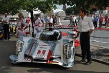 AUDI организовала выставку своих гоночных автомобилей в ГУМе, фото 4