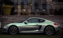 Презентация нового Porsche Cayman в ресторане Vodный, фото 2