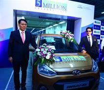 Hyundai Motor выпустил в Индии пятимиллионный автомобиль, фото 1