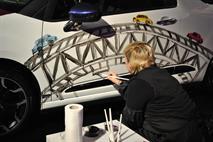 Дизайнеры раскрасили Citroen DS3, фото 1