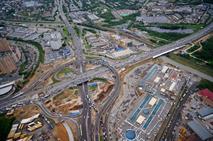 Открыта эстакада на пересечении Дмитровского шоссе и МКАД, фото 1