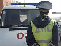 Пьяный полицейский устроил ДТП в Москве, фото 1