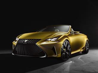Lexus представил в Лос-Анджелесе родстер будущего