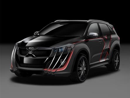 KIA создала автомобиль посвященный саге «Люди Икс»