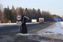 На дорогах Белоруссии появилась «смерть с косой», фото 1