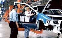Конвейер Acura Division в Калифорнии