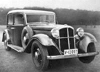 Переднеприводная Audi 1936 года