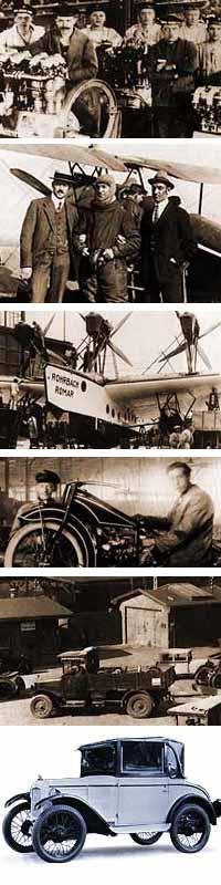 Прежде чем сделать легковой автомобиль на BMW делали моторы, аэропланы , и мотоциклы...