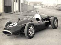 Первый De Tomaso для F1с двигателем O.S.C.A.