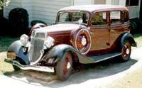 """""""Форд V8 серии 40A"""" (1934 год)"""