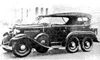 Автомобиль Isuzu Sumidab 93-6/4 (1934 год)