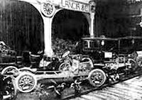 1908 год - на ковейере первые Lanca-Alfa