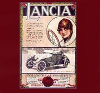 Свидетельство о высоком качестве марки Lancia (20-е годы ХХ века)