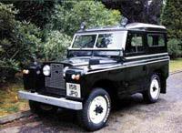Короткобазный Land Rover 107 (1958 год)
