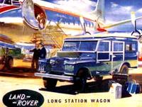 Длиннобазный универсал Land Rover 107 (1958 год)