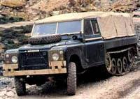 Гусеничный Land Rover (1978 год)