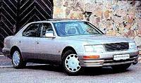 Lexus LS400 - первый покоритель Америки