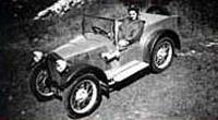 """Первый автомобиль, построенный Колином Чапменом,  и названный им """" ACBC Mk I""""  (1948 год)"""