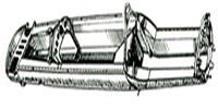 Моноблок-кузов, изобретенный Чапменом, является основой построения гоночных автомобилей и по сей день
