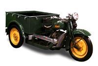 """Этот мотоцикл и назывался в Японии """"грузовиком"""" - Mazda TCS-3 (1935 год)"""