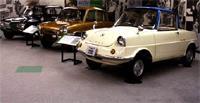 Три Mazda - 1960, 1963 и 1964 годы: R 360, Carol 600 и Familia 800