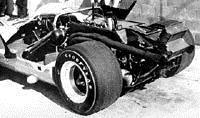 Силовой агрегат McLaren - 1969 год