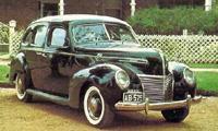 Mercury 1940 год