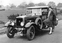 MG середины 20-х годов ХХ века считалась машиной для превилегированных слоев населения Великобритании