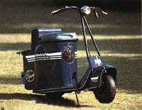 Этот мотороллер носил гордую эмблему Mitsubishi