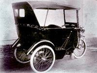 Самый первый Nissan-DAT мало походил на автомобиль