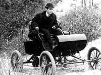 Первая поездка на первом Oldsmobile Curved Dash (1901 год)