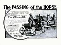 """Реклама 100 лет назад гордо провозглашала: """"Лошади отдыхают!"""""""