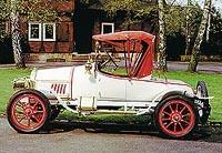 Двухместный родстер Opel 5/12 л.с. (1911 год)