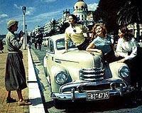 """Внимание, это не """"Победа"""" - это Opel Kapitan (1951-1953 годы)"""