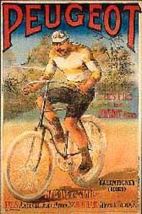Потом велосипеды стали более привычными - с одинаковыми по диаметру колесами