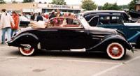 Peugeot 402 - вид сбоку: не менее экзотично (1934 год)