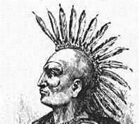 Предводитель индейского племени Понтиак