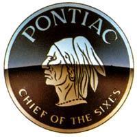 """Первая эмблема Pontiac - """"Король шестерок"""""""