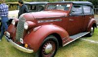 1935 год - шестицилиндровый Pontiac