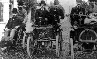 Первая поездка Луи Рено на автомобиле собственной конструкции