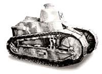 В годы первой мировой войны Renault выпускал танки - с ними потом сражались красноармейцы на фронтах Гражданской войны в России, так как они стояли на вооружении Антанты