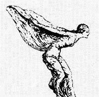 """""""Дух экстаза"""" - эмблема с 1911 года менялась дважды: в день гибели Ролса и в день смерти Ройса"""