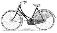 Безопасный велосипед Rover имел колеса одного диаметра