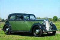 Rover 16 Sports Saloon, 1947