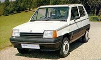 SEAT Marbella - из начального этапа в биографии фирмы, который выпускался 16 лет, и который, на самом деле, точная копия FIAT Panda