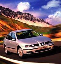А это SEAT Toledo - из финального этапа развития фирмы, который выпускается сейчас, и который, на самом деле, VW Golf