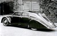 Tatra T77 - легендарная машина, сделавшая имя Ледвинки всемирно известным  (1934 год)