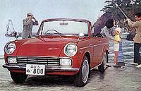 Toyota Сorona Cabrio (1958 год)