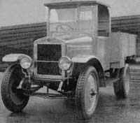 Первый советский грузовик АМО-Ф-15